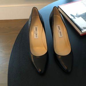 "Classic Jimmy Choo black 31/2"" heel pumps. New NBW"